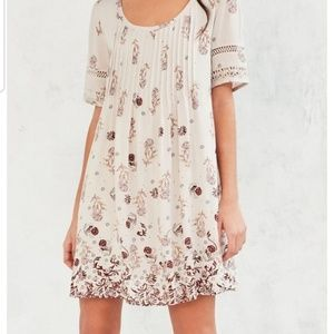 Urban Outfitters ecote Amethyst Pintucked Frock